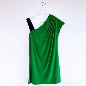 Essentials by ABS | Green Mini Dress